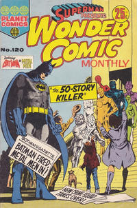 Cover Thumbnail for Superman Presents Wonder Comic Monthly (K. G. Murray, 1965 ? series) #120