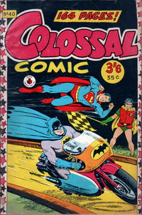 Cover Thumbnail for Colossal Comic (K. G. Murray, 1958 series) #40
