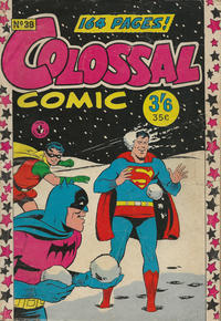 Cover Thumbnail for Colossal Comic (K. G. Murray, 1958 series) #38
