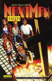 Cover Thumbnail for Next Men: Faith (NORMA Editorial, 1996 series)