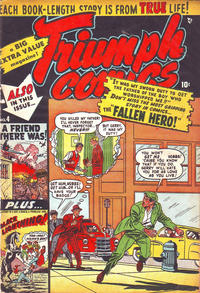 Cover Thumbnail for Triumph Comics (Bell Features, 1950 series) #4