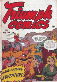 Cover Thumbnail for Triumph Comics (Bell Features, 1950 series) #10