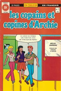 Cover Thumbnail for Les Copains et Copines d'Archie (Editions Héritage, 1979 series) #1
