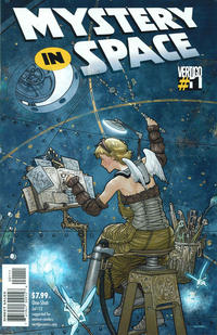 Cover Thumbnail for Mystery in Space (DC, 2012 series) #1