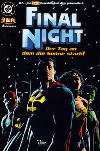 Cover Thumbnail for JLA - Die neue Gerechtigkeitsliga Sonderband (Dino Verlag, 1997 series) #5 - Final Night