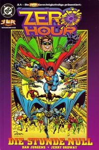 Cover Thumbnail for JLA - Die neue Gerechtigkeitsliga Sonderband (Dino Verlag, 1997 series) #3 - Zero Hour - Die Stunde Null