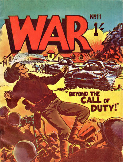 Cover for War (L. Miller & Son, 1961 series) #11