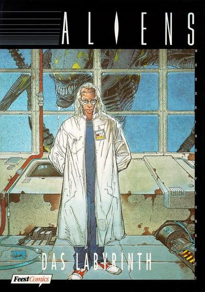 Cover for Aliens (Egmont Ehapa, 1994 series) #4