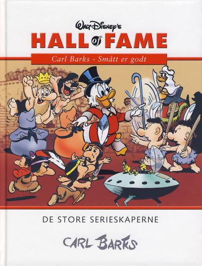 Cover for Hall of Fame (Hjemmet / Egmont, 2004 series) #[42] - Carl Barks 7