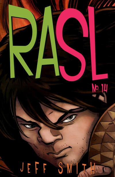 Cover for RASL (Cartoon Books, 2008 series) #14