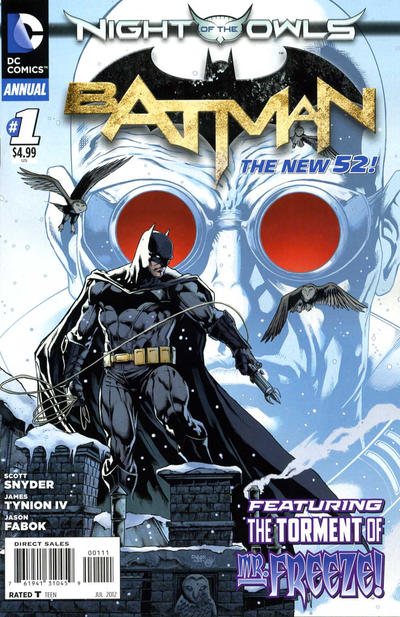 Cover for Batman Annual (DC, 2012 series) #1