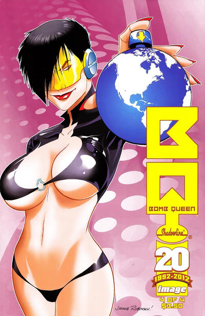 Cover for Bomb Queen (Image, 2011 series) #4