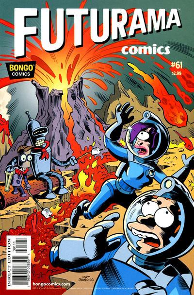 Cover for Bongo Comics Presents Futurama Comics (Bongo, 2000 series) #61