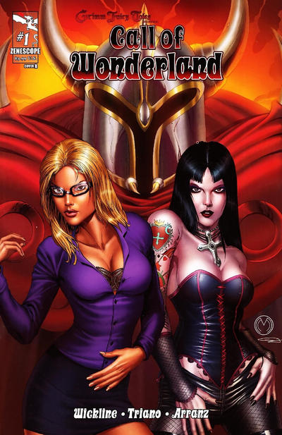 Cover for Grimm Fairy Tales Presents Call of Wonderland (Zenescope Entertainment, 2012 series) #1 [Cover B]