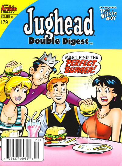 Cover for Jughead's Double Digest (Archie, 1989 series) #179 [Newsstand]