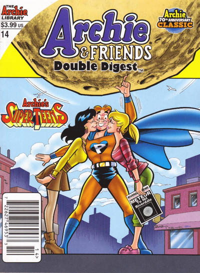 Cover for Archie & Friends Double Digest Magazine (Archie, 2011 series) #14 [Direct]