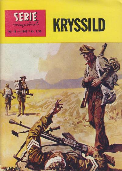 Cover for Seriemagasinet (Serieforlaget / Se-Bladene / Stabenfeldt, 1951 series) #11/1968