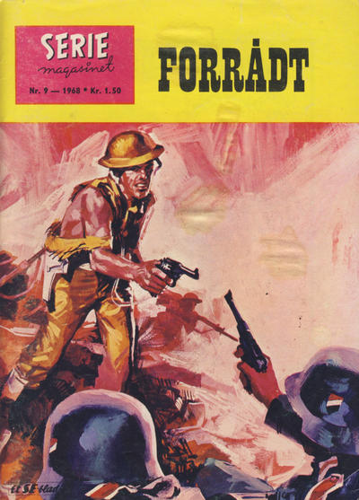 Cover for Seriemagasinet (Serieforlaget / Se-Bladene / Stabenfeldt, 1951 series) #9/1968