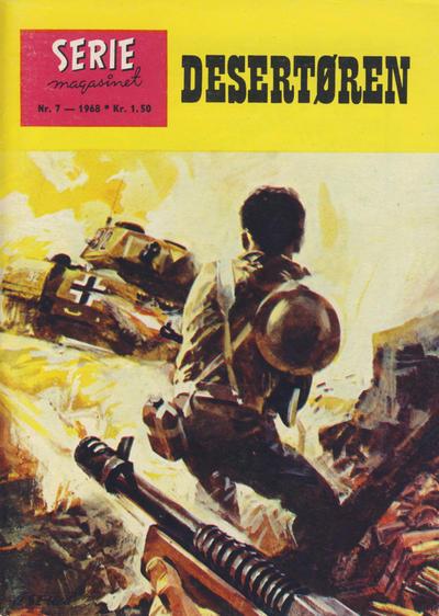 Cover for Seriemagasinet (Serieforlaget / Se-Bladene / Stabenfeldt, 1951 series) #7/1968