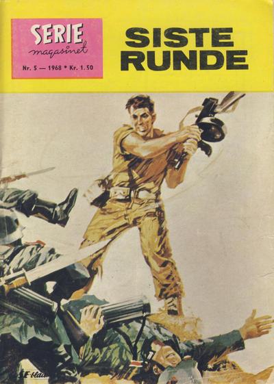 Cover for Seriemagasinet (Serieforlaget / Se-Bladene / Stabenfeldt, 1951 series) #5/1968
