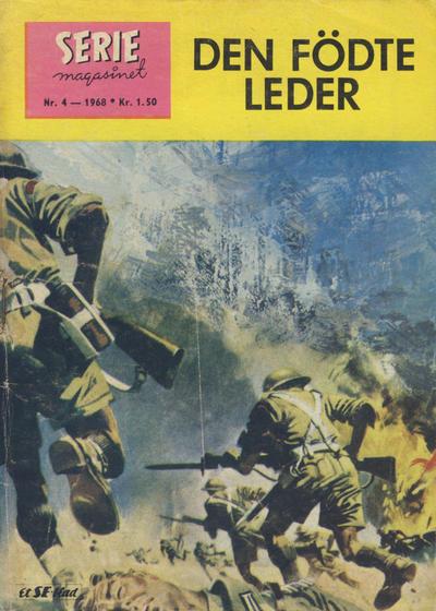 Cover for Seriemagasinet (Serieforlaget / Se-Bladene / Stabenfeldt, 1951 series) #4/1968
