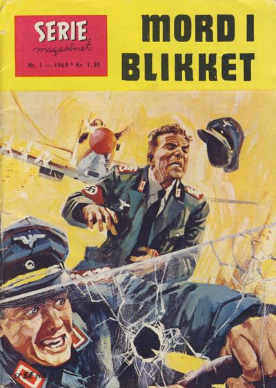 Cover for Seriemagasinet (Serieforlaget / Se-Bladene / Stabenfeldt, 1951 series) #1/1968