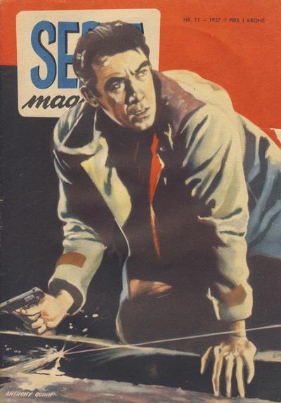 Cover for Seriemagasinet (Serieforlaget / Se-Bladene / Stabenfeldt, 1951 series) #11/1957