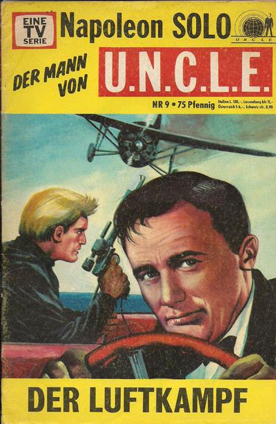 Cover for Napoleon Solo - Der Mann von U.N.C.L.E. (Semic, 1967 series) #9
