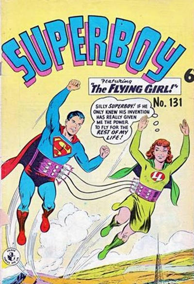 Cover for Superboy (K. G. Murray, 1949 series) #131