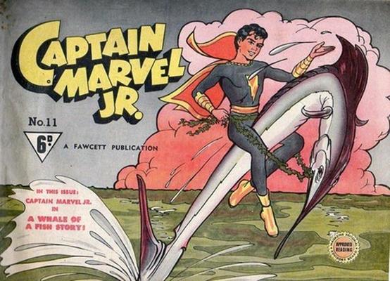 Cover for Captain Marvel Jr. (Cleland, 1947 series) #11
