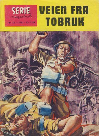 Cover for Seriemagasinet (Serieforlaget / Se-Bladene / Stabenfeldt, 1951 series) #12/1967