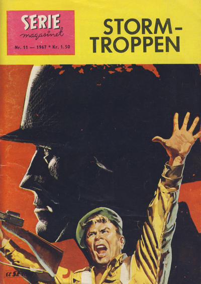 Cover for Seriemagasinet (Serieforlaget / Se-Bladene / Stabenfeldt, 1951 series) #11/1967