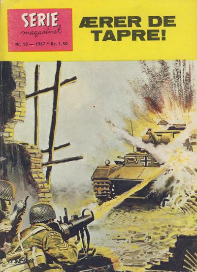 Cover for Seriemagasinet (Serieforlaget / Se-Bladene / Stabenfeldt, 1951 series) #10/1967