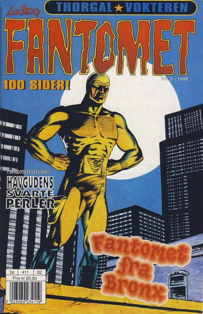 Cover for Fantomet (Hjemmet / Egmont, 1998 series) #2/1998