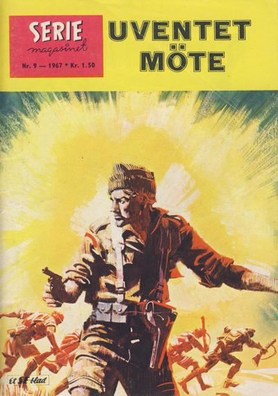 Cover for Seriemagasinet (Serieforlaget / Se-Bladene / Stabenfeldt, 1951 series) #9/1967