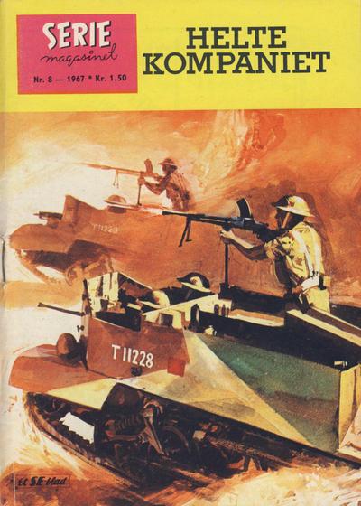 Cover for Seriemagasinet (Serieforlaget / Se-Bladene / Stabenfeldt, 1951 series) #8/1967