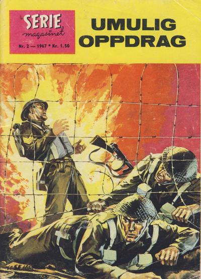 Cover for Seriemagasinet (Serieforlaget / Se-Bladene / Stabenfeldt, 1951 series) #2/1967