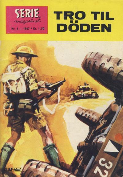 Cover for Seriemagasinet (Serieforlaget / Se-Bladene / Stabenfeldt, 1951 series) #4/1967