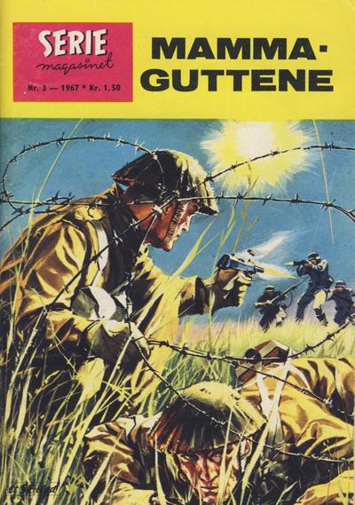 Cover for Seriemagasinet (Serieforlaget / Se-Bladene / Stabenfeldt, 1951 series) #3/1967