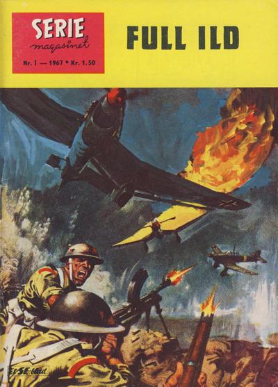 Cover for Seriemagasinet (Serieforlaget / Se-Bladene / Stabenfeldt, 1951 series) #1/1967