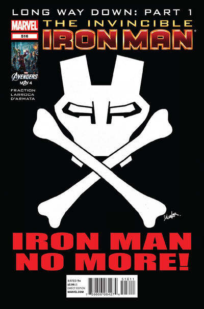 Cover for Invincible Iron Man (Marvel, 2008 series) #516