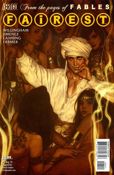 Cover for Fairest (DC, 2012 series) #4