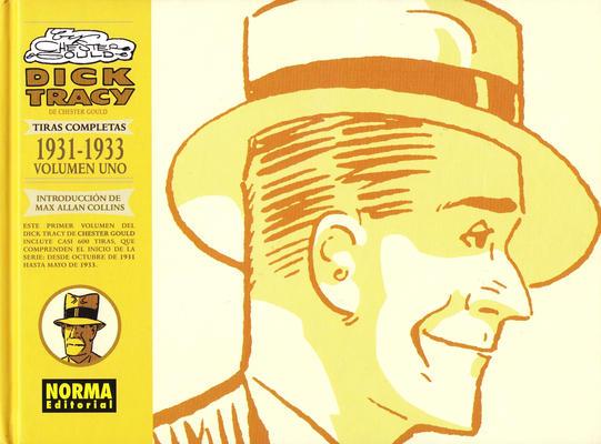 Cover for Dick Tracy: Las Tiras Completas (NORMA Editorial, 2008 series) #1