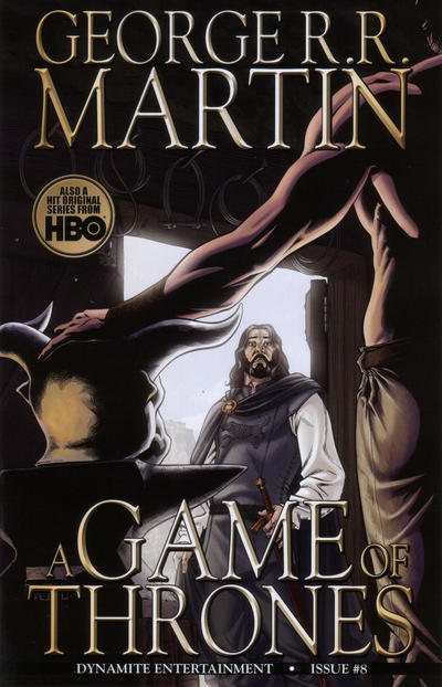 Cover for George R. R. Martin's A Game of Thrones (Dynamite Entertainment, 2011 series) #8