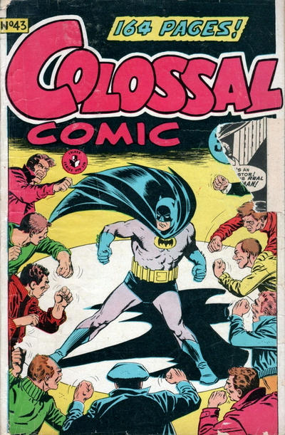 Cover for Colossal Comic (K. G. Murray, 1958 series) #43