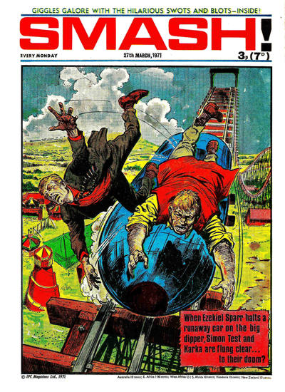 Cover for Smash! (IPC, 1966 series) #256