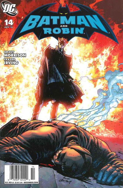 Cover for Batman and Robin (DC, 2009 series) #14 [Direct Edition]