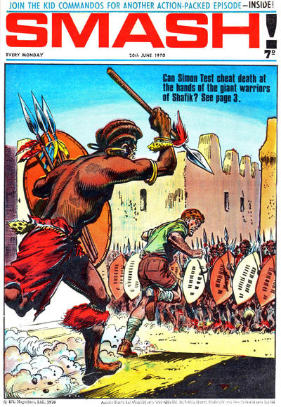 Cover for Smash! (IPC, 1966 series) #227