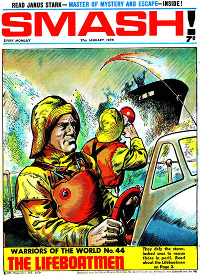 Cover for Smash! (IPC, 1966 series) #207