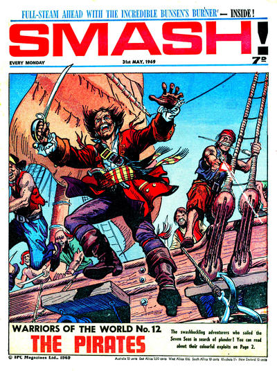 Cover for Smash! (IPC, 1966 series) #174